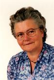 Erike Hedt, Postzustellerin 1964 bis 1980